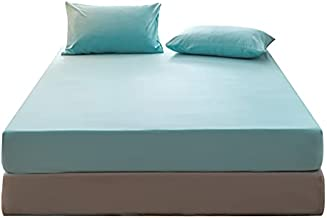 2 Pack Twin Size Bedding Set Including Sheet Pillowcase, Deep Pocket 8-12 Inch Mattress Suitable for Bedroom Guest Room Hotel Apartment Dormitory