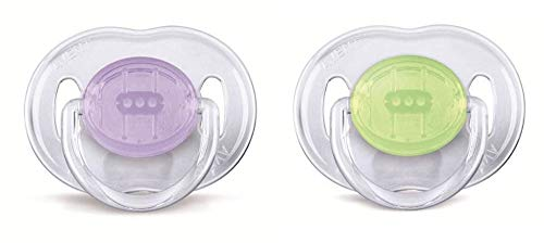 Philips Avent Classic Soother 0-6 Months, Pack of 2