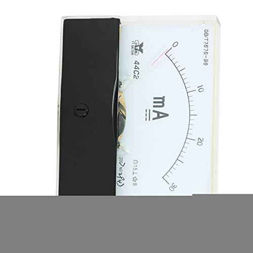 Aexit Messung Werkzeug Analog Panel Amperemeter Messgerät DC 0-30mA Messbereich