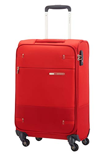Samsonite Base Boost Spinner S Equipaje de mano, 55 cm, 35 L, Ancho: 35 cm, Rojo (Red)