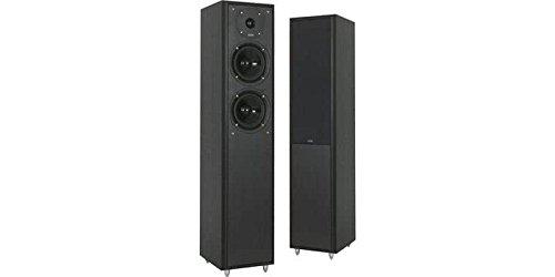 Eltax Monitor IX - Altavoces columnas (2 unidades), color negro