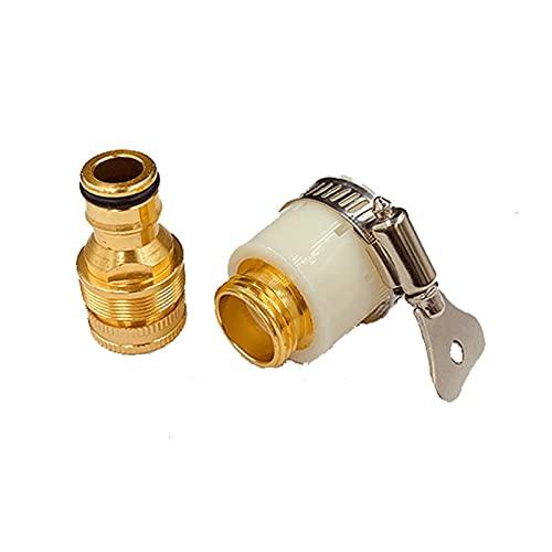 Conector de grifo Conector de manguera de cocina Conector de llave de metal mezclador Conector de manguera Conector de tubería de agua Accesorios Herramientas de riego de jardín Adaptadores para inter