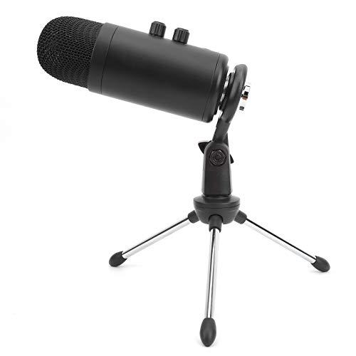 Nieren-Kondensatormikrofon, Kondensatormikrofon-Kit mit Stativhalterung und 3,5 Mm Kopfhörerbuchse, BM-900 Mikrofonset zum Podcast Spiel Musik Aufnehmen Voice-over