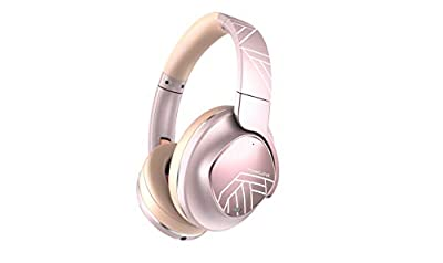 PowerLocus Active Noise Cancelling Headphones, Bluetooth Over-Ear Headphones with Noise Reduction, 70Hrs Playtime, Wireless Headphones, Hi-Fi Deep Bass, Foldable with Microphone for Phones/Laptops/PC by PowerLocus