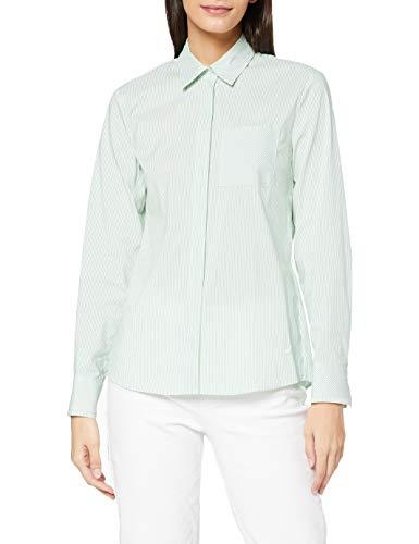 BRAX Damen Style Victoria Bluse, Green, 36