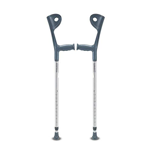 Y DWAYNE Muletas para Adultos Bastón Extra Largo Ayudas de Movilidad Ajustables Andador de aleación de Aluminio Equilibrio Antideslizante Herramienta Auxiliar móvil