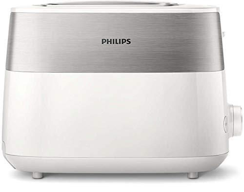 Philips Daily Collection HD2515/00 broodrooster 2 schijven(en) wit 830 W