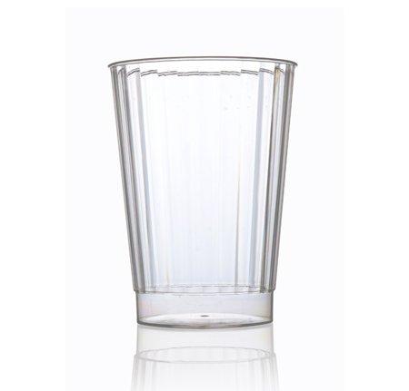 Pack de 40 vasos de plástico resistentes elegantes | Vasos de plástico...