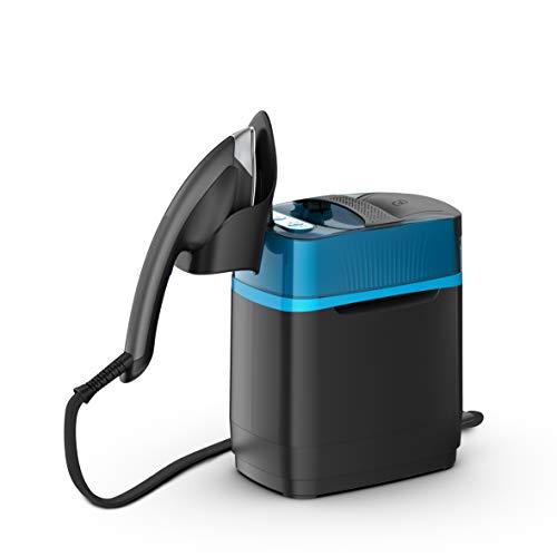 Calor Cube Dampfglätter mit hoher sanierender Dampfglättung, Bügeleisen, mobiler Druck, 5,8 bar, kontinuierliche Durchflussmenge bis zu 90 g/min, Dampfmenge 200 g/min UT2020C0, 2170 W, 1,1 l