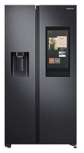Samsung 657 L Inverter Frost-Free Side-By-Side Refrigerator (RS74T5F01B4/TL, Gentleblack Matt)