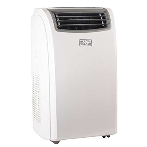 Black + Decker BPACT12WT Portable Air Conditioner, 12,000 BTU, White