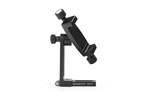 Sunwayfoto CPC-01 Arca / RRS Compatible Cell Phone Holder 56mm to 92mm / Mobile Phone Bracket Tripod Mount