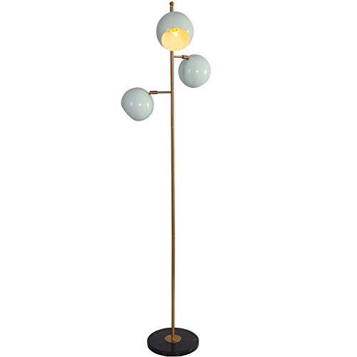 TBUDAR Lámpara de Piso Lámpara de pie Azul cálida Creativa Lámpara de pie Sala de Estar Sofá Dormitorio Lámpara de pie Estudio Luz de pie Ajustable