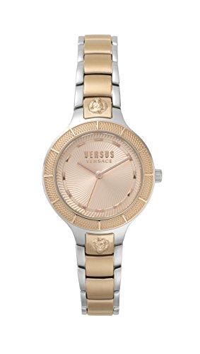 Versus by Versace dames analoog kwarts horloge met roestvrij stalen armband VSP480718