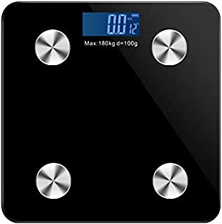 Scale Multipurpose Floor Scale Smart Bluetooth-Scales Body Weight Bathroom Scale Electronic LED Digital Body Weight Body F...