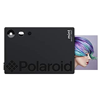 Polaroid Mint Instant Print Digital Camera (Black), Prints on Zink 2x3 Sticky-Backed Photo Paper (B07N98VCYJ) | Amazon price tracker / tracking, Amazon price history charts, Amazon price watches, Amazon price drop alerts