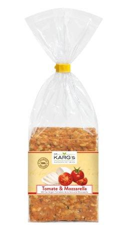Dr. Karg Tomate Mozzarella Feinschmecker-Knäckebrot, 5er Pack (5 x 200 g Beutel)