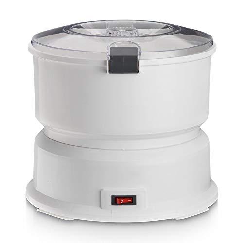 ZXWNB Kartoffelschälmaschine, Kartoffelschälmaschine Mit Salatschleuder 1Kg Elektrische Kartoffelschäler Kartoffel Schälmaschine