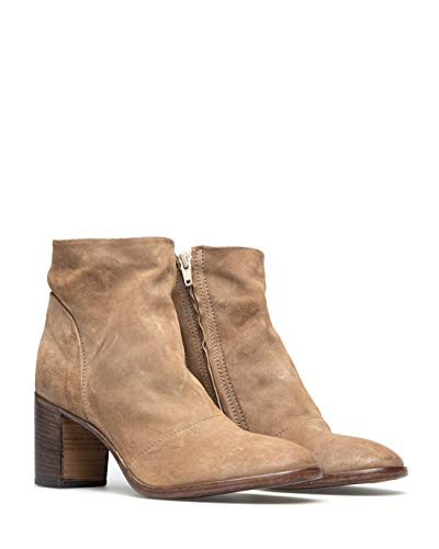 MOMA Nashville - Oliver Stiefelletten/Boots Damen Maulwurf - 39 - Low Boots Shoes