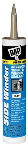 DAP 00804 Side Winder Advanced Polymer Siding & Window Sealant, Clay, 10.1 oz