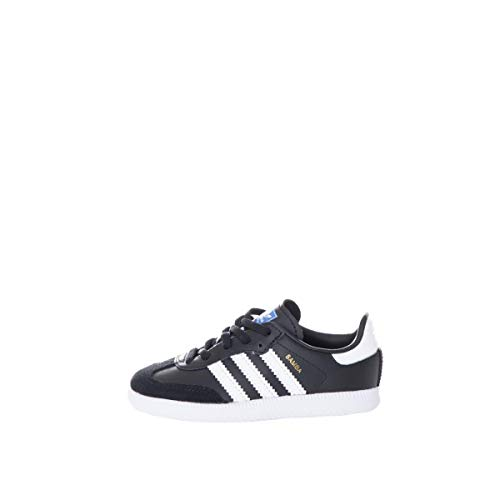 adidas Samba Og El I Unisex Fitness Shoes Black Black 000 6k UK 23 EU