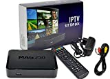 Original MAG 250 W1 Multimedia Player Built-in 150Mbps Wi-Fi & HDMI Cable INFOMIR