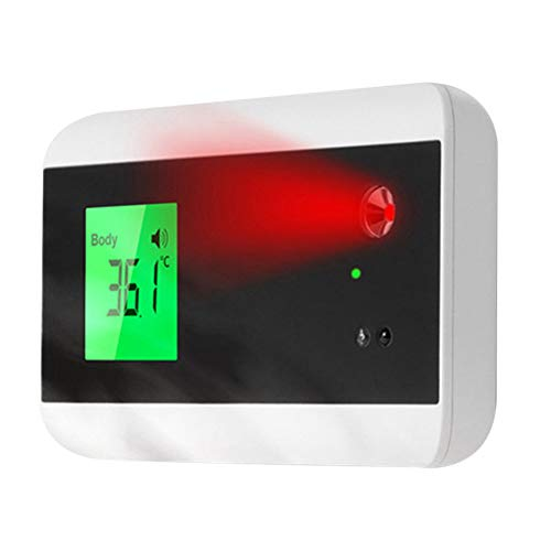 Raburt Face Recognition Temperature Measurement Access Control Machine System Infrared Body Temperature Scanner Thermometer