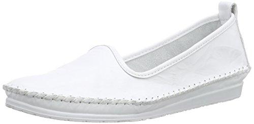 Andrea Conti Damen 0027449 Slipper, Weiß (weiß 001), 42
