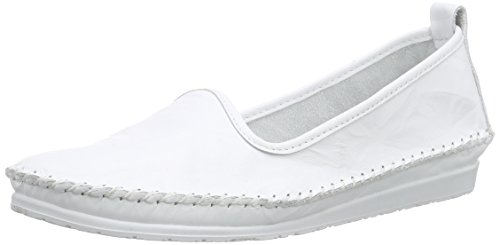 Andrea Conti Damen 0027449 Slipper, Weiß (weiß 001), 38 EU