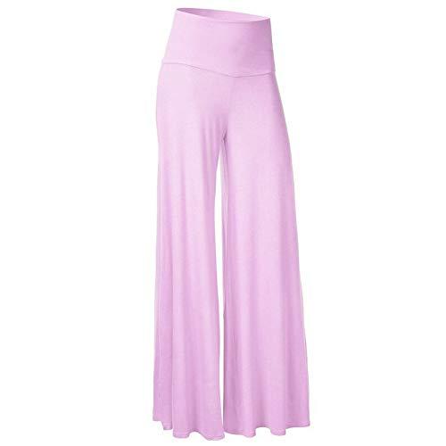 Pantalones Anchos Pantalones Sueltos de Mujeres Europeas y Americanas Cremallera de Cintura Alta Pantalones Salvajes Casuales Ajustados Ajustados