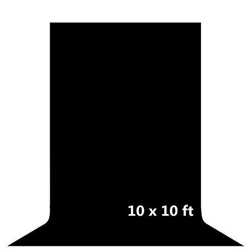 Telón de fondo para estudio fotográfico, 3 x 3 m, tela de muselina suave, accesorios para fotografía, vídeo, televisión y juego en vivo (solo fondo)