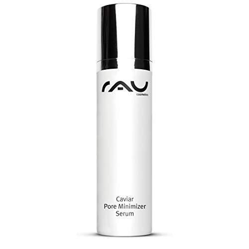 Pore Minimizer und Feuchtigkeit mit Kaviar-extrakt, Algen-extrakt und Meersalz - RAU Caviar Serum 50 ml
