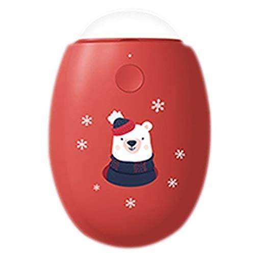 JLWDD 2 in 1 USB Handwärmer Doppelseitig Aufladbarer Taschenwärmer Wiederverwendbar, Ladegerät Geschenkfür Mädchen, Männer
