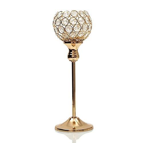 Bumpy Road Kristall Kerzenhalter Metall Glas Kerzenhalter Hochzeit Tischdekoration für Home Decoration