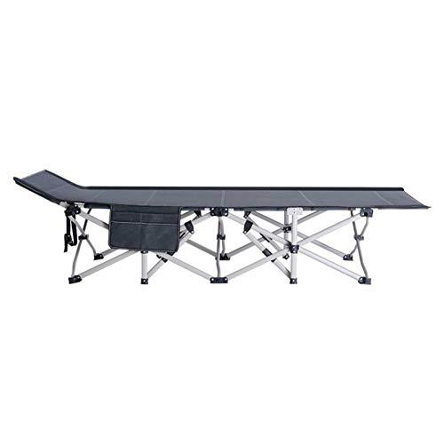 ACoo Cama Plegable para una Sola Persona, reclinable para la Oficina, para el Almuerzo, Cama de acompañante Simple, Cama para Acampar portátil al Aire Libre