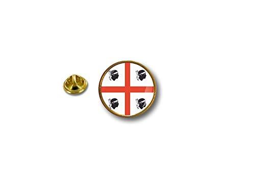 Akacha pins pin's Vlag Badge Metalen Lapel hoed Button Biker Vlag Sardinië Sardegna Italië