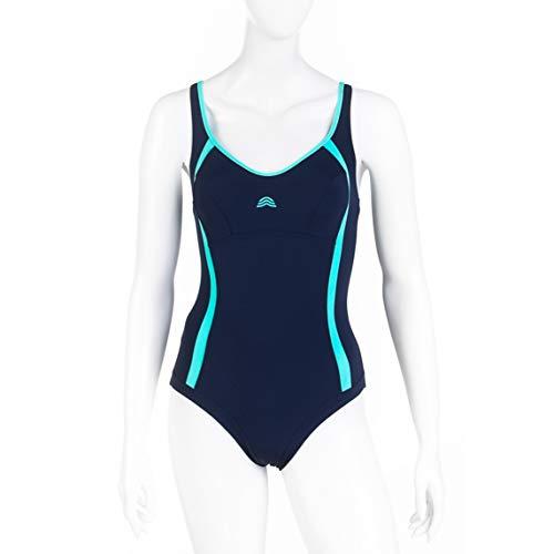 Aquarapid Costume Intero Nuoto Donna Awen Blu 50