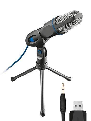 Trust Mico Microfoon, Zwart