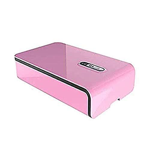 Pkfinrd - Teléfono esterilizador UV lámpara multifunción, Smart Phone Cleaner esterilización Box con función de aroma