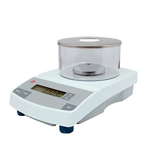 YLJJ Balanza analítica Digital 100g / 1mg Pesaje de Laboratorio Balanza electrónica Balanza de precisión Digital para Laboratorio/joyería/Farmacia/Planta química
