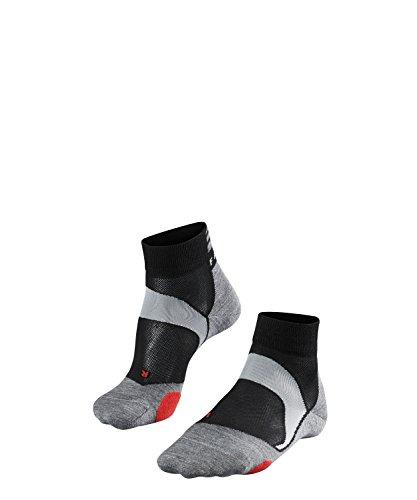 FALKE Unisex, Socken BC5 Baumwollmischung, 1 er Pack, Schwarz (Black-Mix 3010), 44-45