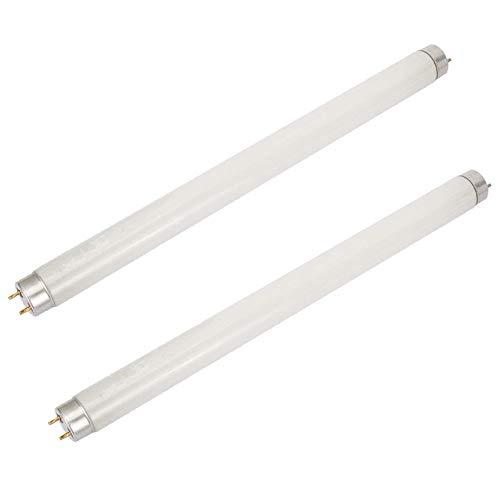 Samxu Bombilla de 6W Bug Zapper, Paquete de 2, Bombilla T5 UV para 12W Bug Zappers, insecticida para Eliminar Mosquitos, Control de plagas en el hogar Tubo de luz UV Reemplazo de lámpara electrónica