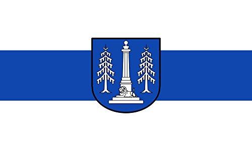 Unbekannt magFlags Tisch-Fahne/Tisch-Flagge: Ottobrunn 15x25cm inkl. Tisch-Ständer
