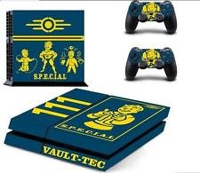 Dash Fun PS4 and 2 Controllers Skin Decals of Special Vault-Tec Fallout 4 Stickers