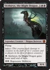 Magic The Gathering Skithiryx, The Blight Dragon