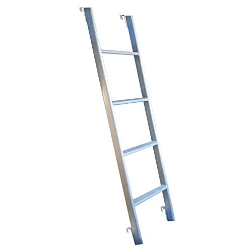 Escaleras Plegables Moderno Escalera para Litera con Gancho, Vertical Ajustable Escaleras de...