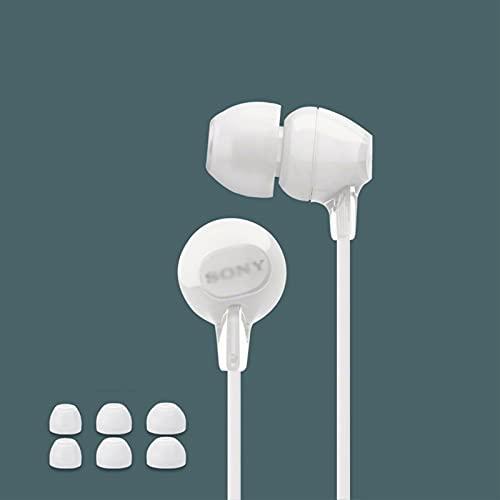 Binn Auriculares de Música Auriculares/Auriculares en la Oreja 3.5mm Cable en Auriculares estéreo con cancelación de Ruido Auriculares con Cable con micrófono y Control de Volumen Headphones