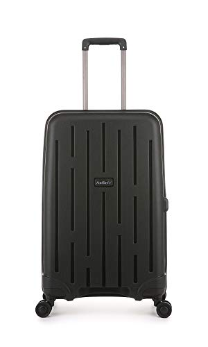 Antler Lightning Durable & Ultra Lightweight Hard Shell Suitcase Medium Black