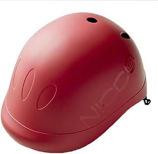 クミカ工業 Nicco ヘルメット ビートル/KM001/キッズ用/49-54cm/CE/日本製/ハードシェル マットレッド