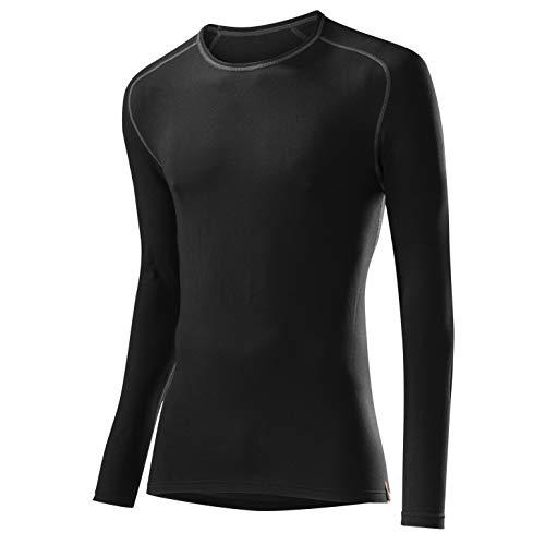 Löffler Herren Unterhemd Shirt Transtex Warm La, schwarz, 52